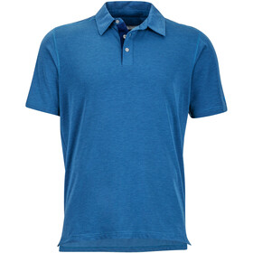 Marmot Wallace Polo manches courtes Homme, arctic navy heather